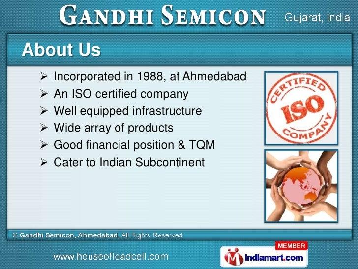Gandhi Semicon, Ahmedabad india Slide 2