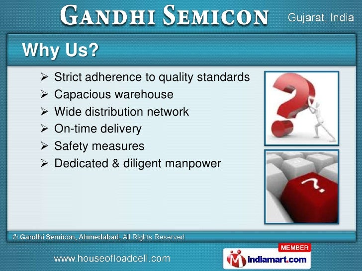 Gandhi Semicon, Ahmedabad india Slide 3