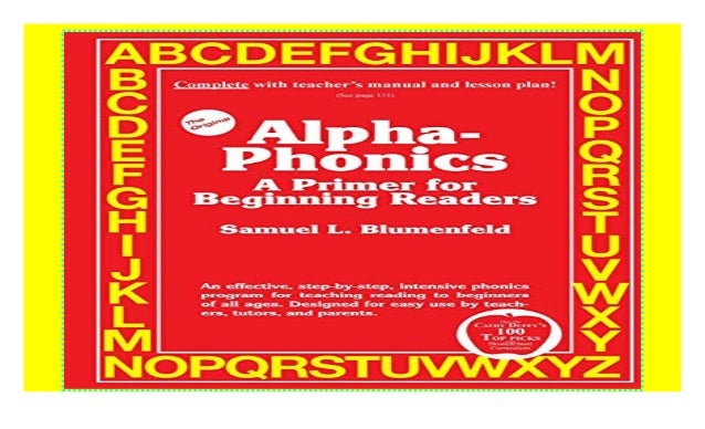 Alpha-Phonics A Primer for Beginning Readers ((P D F))^^@@