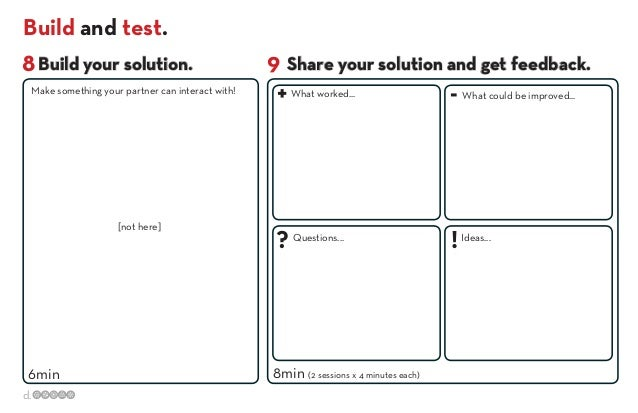 stanforddesignthinkingworkbook – Think Pair Share Worksheet