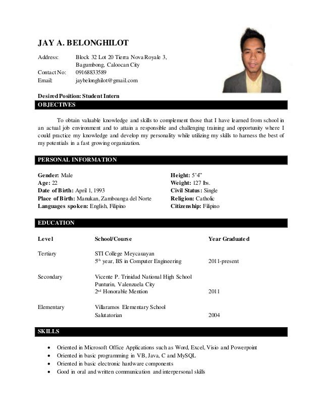 belonghilot resume with 2x2