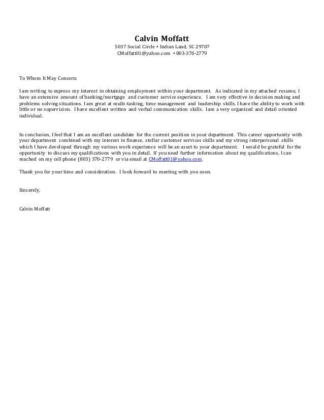 calvinmoffatt resume 2017