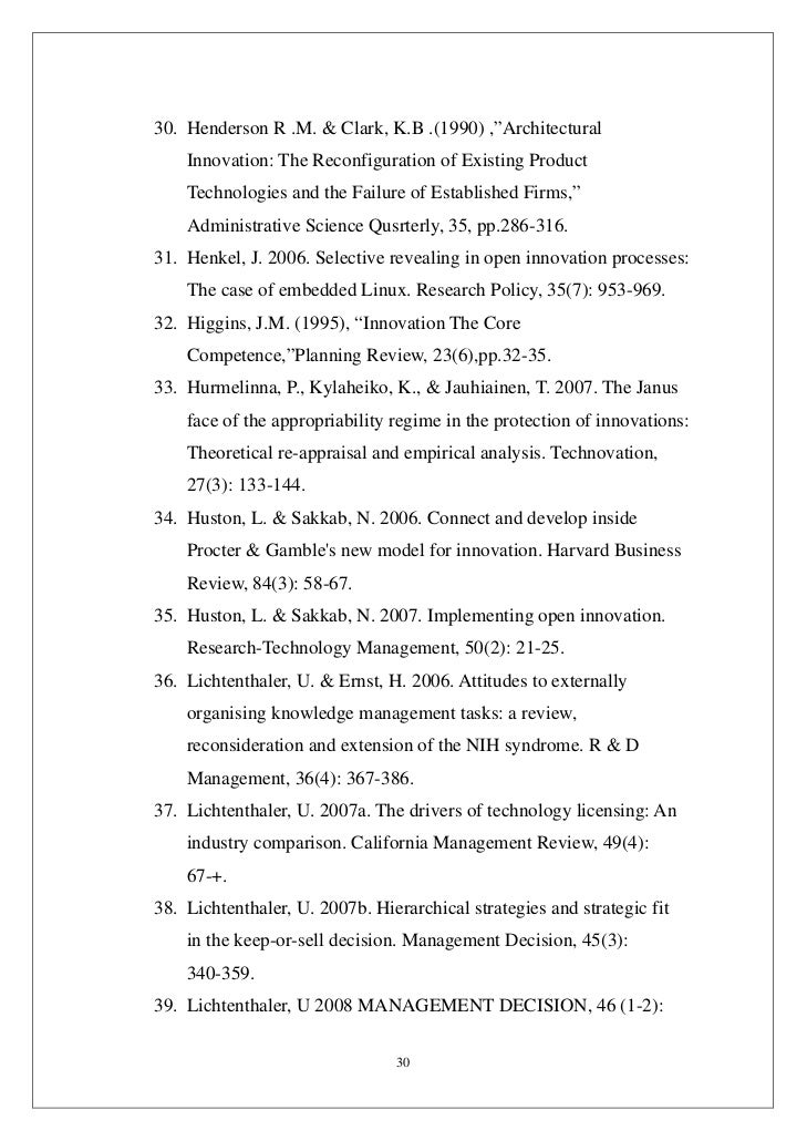 a review architectural innovation the reconfiguration of existing product technologies and the failu Architectural innovation: the reconfiguration existing product technologies and the failure of established firm(1990) kim b clark george fisher baker professor of administration, emeritus harvard university.