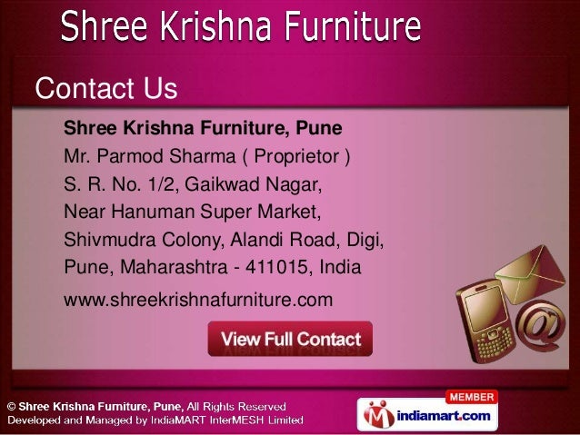 Home Furnitures By Shree Krishna Furniture Pune Pune