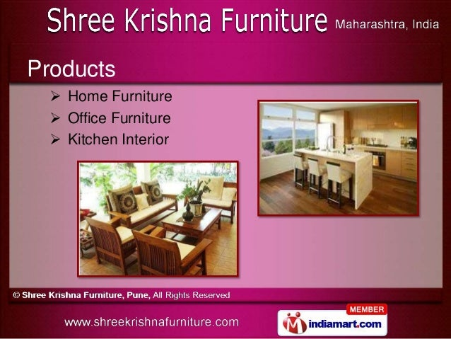Home Furnitures By Shree Krishna Furniture Pune Pune