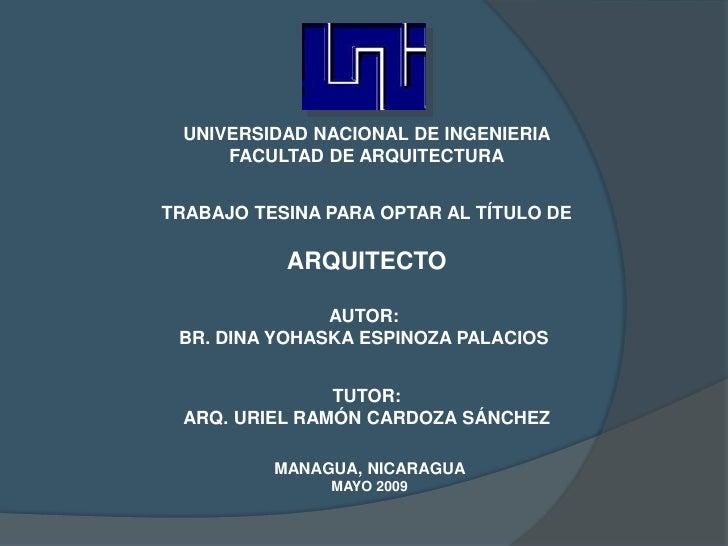 PROPUESTA DE CONSERVACIÓN IGLESIA NUESTRA SEÑORA DE GUADALUPE LEON NICARAGUA Slide 2