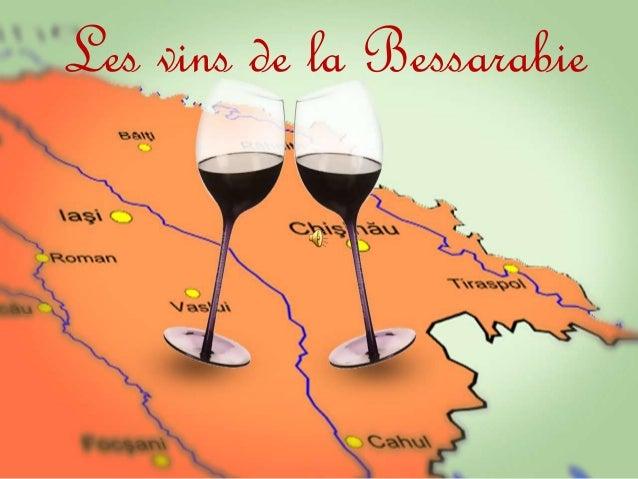 Les vins de la Bessarabie