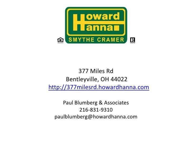 Modernized Tudor on 5.5 Acres for Sale in Bentleyville377 Miles Rd  Bentleyville, OH 44022 http://377milesrd.howardhan...