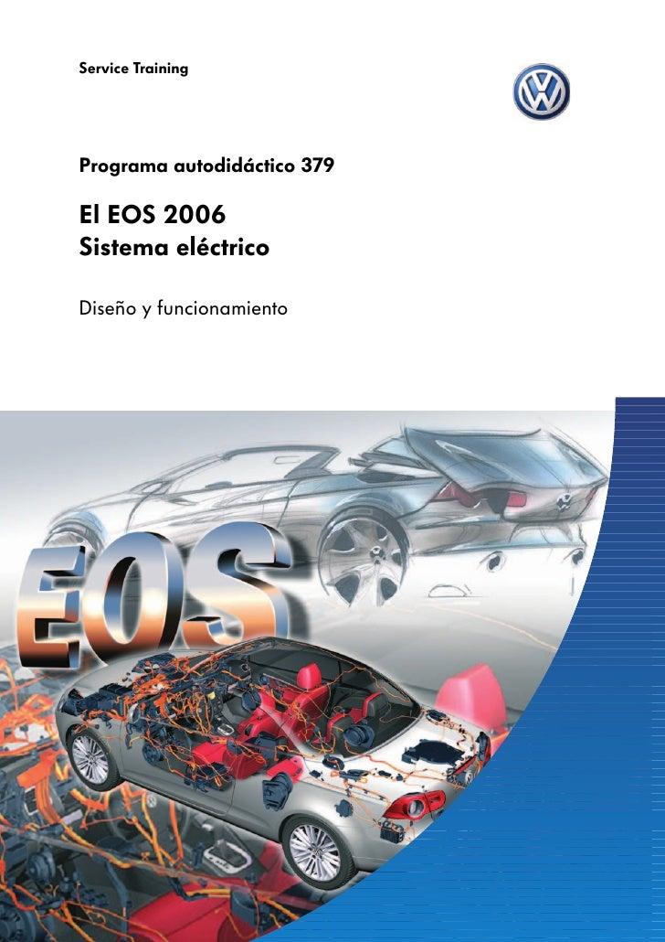 Service TrainingPrograma autodidáctico 379El EOS 2006Sistema eléctricoDiseño y funcionamiento