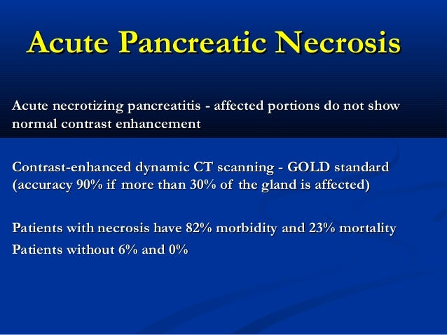 Walled-off pancreatic necrosis and other current concepts in the ...