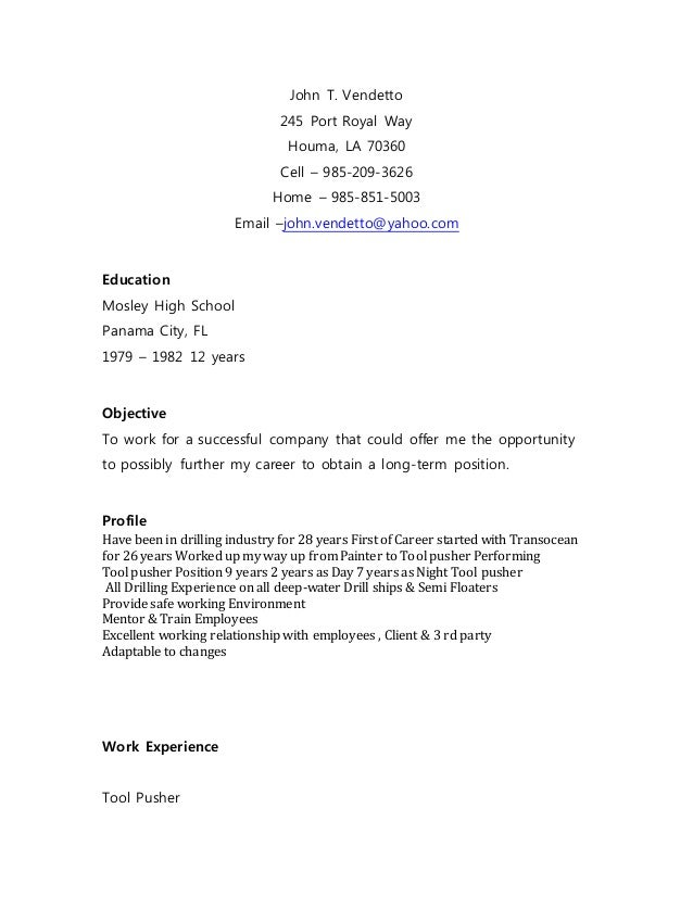johnny resume
