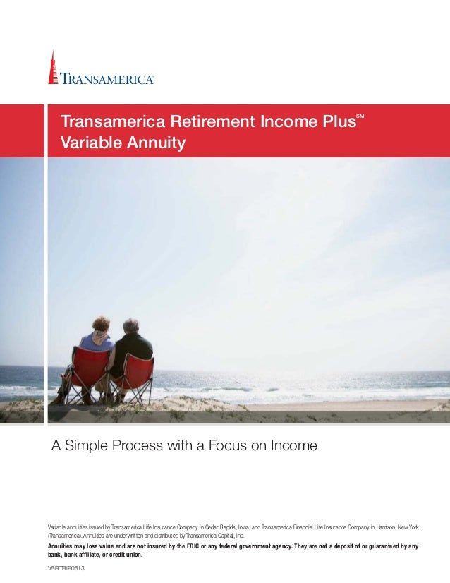 Transamerica Retirement Income Plus Brochure