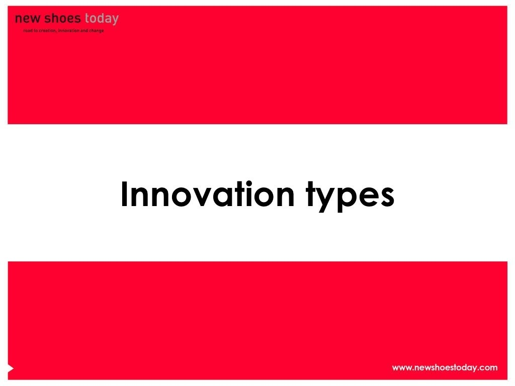 innovation type In innovation, the path of least resistance leads to mediocrity a form of darwinism drives organizations as they decide which ideas to launch but instead of survival-of-the-fittest, it's.