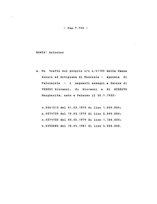 Amato Antonino Fabbrica Artigiana Argenterie.37 Parte 6 Le Singole Posizioni Capitolo 4 Le Indagini