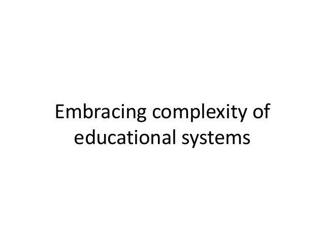 Capacity development Multidisciplinary teams in institutions critical