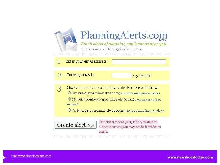 http://www.planningalerts.com
