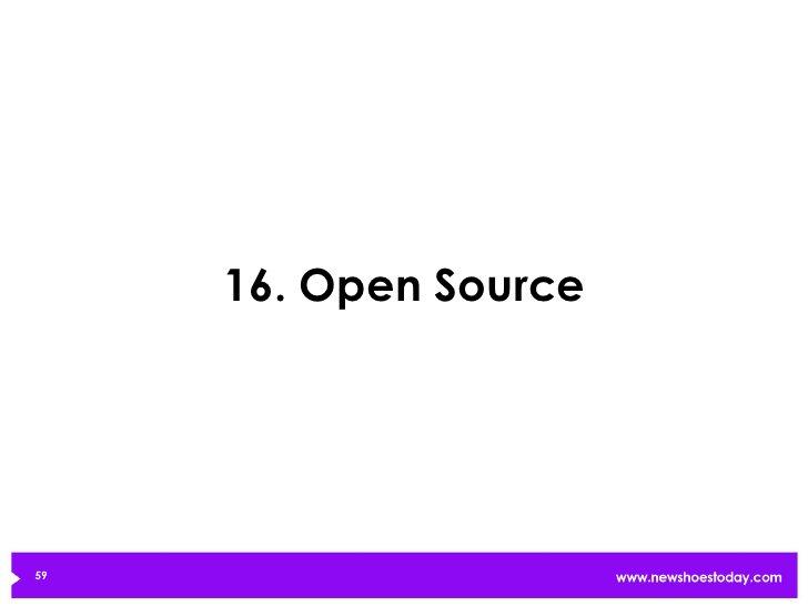 16. Open Source59