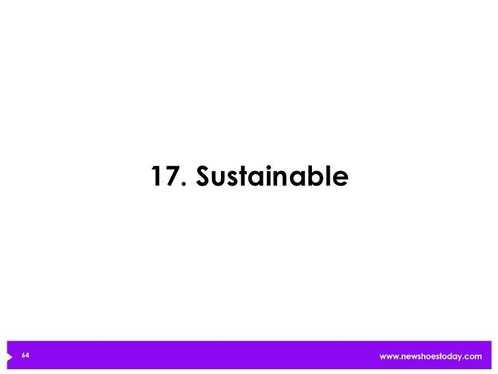 17. Sustainable64