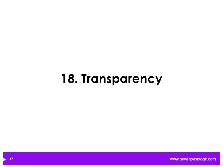 18. Transparency67