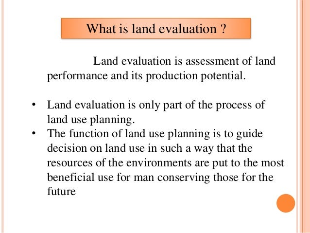 SOIL SURVEY AND LAND EVALUATION EPUB