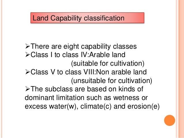 LAND CAPABILITY CLASSIFICATION EPUB DOWNLOAD