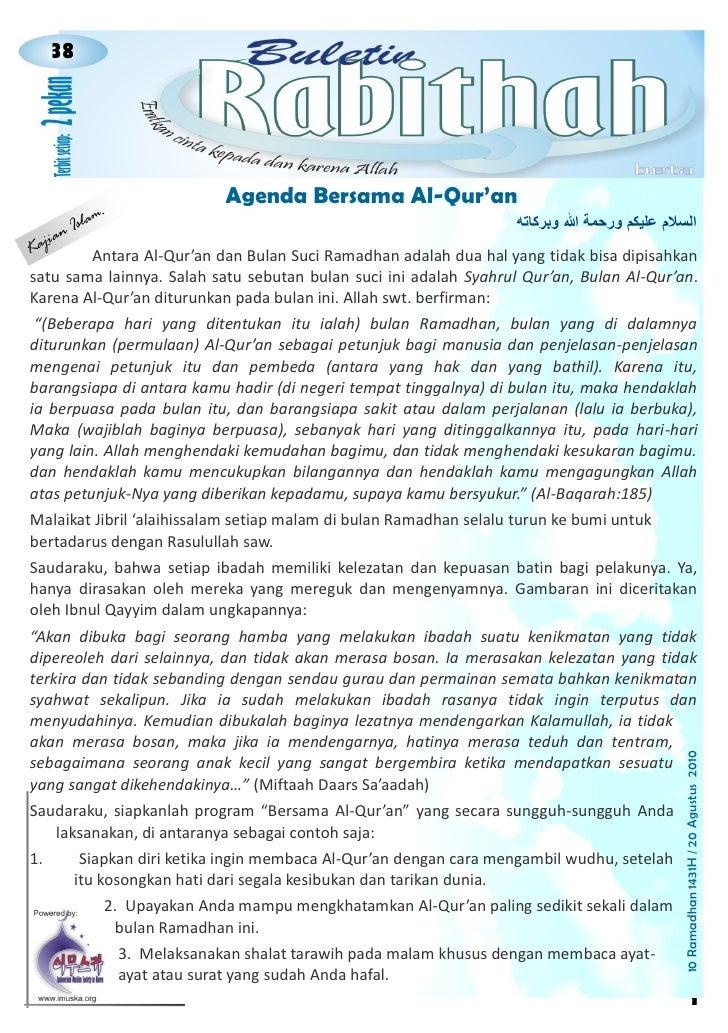 38                                     021                                      Agenda Bersama Al-Qur'an                m....