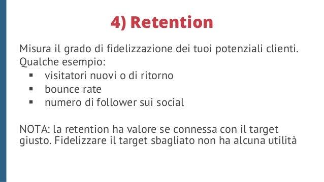 5) Vendite La difficoltà nel misurare le vendite arrivate da attività di social media marketing è legata alla difficoltà d...