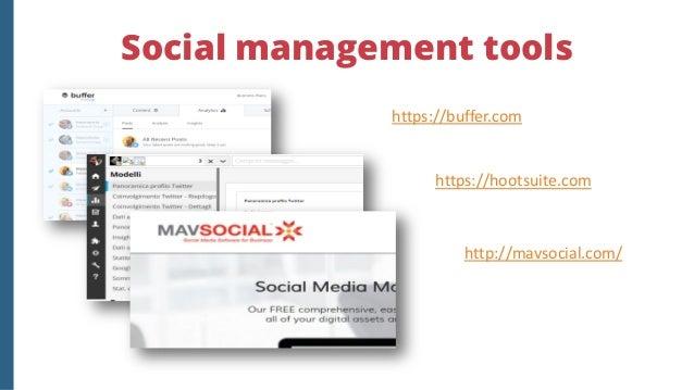19 free tools segnalati da Buffer https://blog.bufferapp.com/social-media-analytics-tools