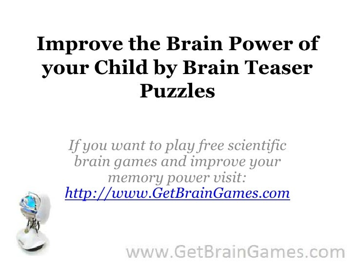Teasers How Help Your Do Brain Brain