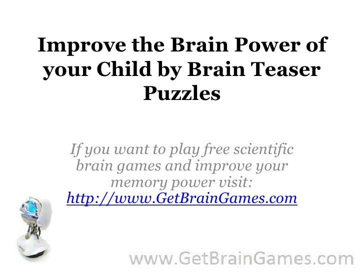 Teasers How Help Your Do Brain Brain