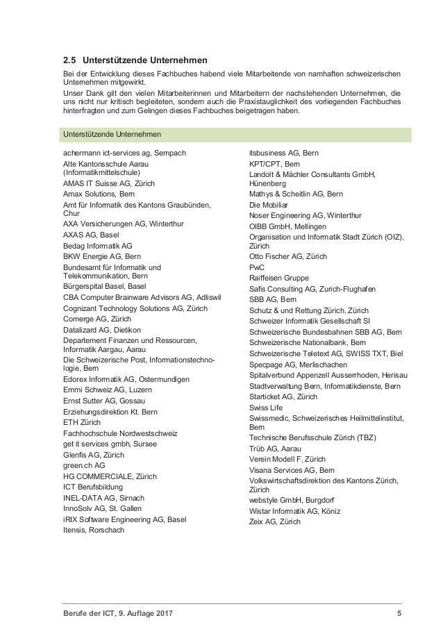 Berufe der ict branchen bliche ict und organisations for Berufe in der schweiz