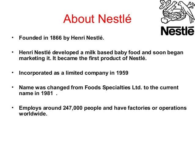 Porter's Five Forces Analysis (Porter Model) of Nestle