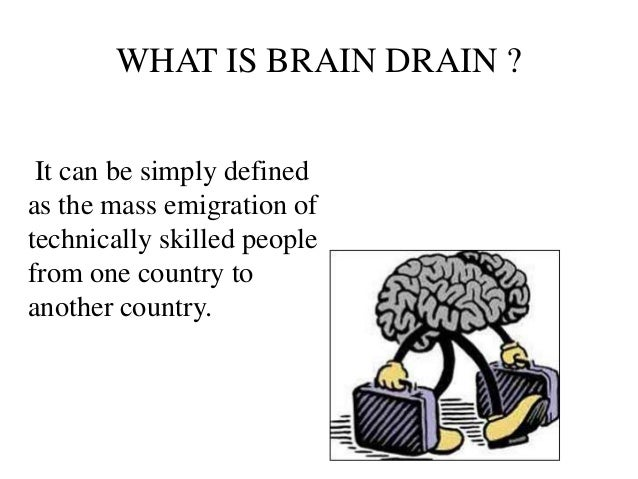 Problem and solution essay about brain drain