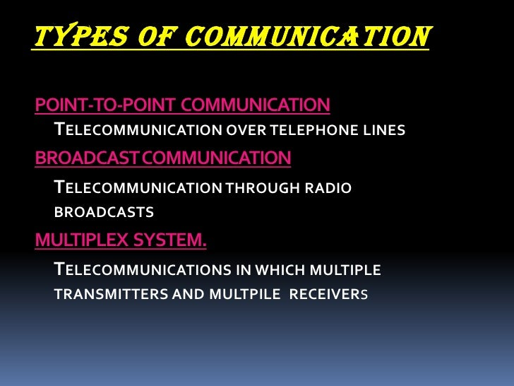 Essay on telecommunication