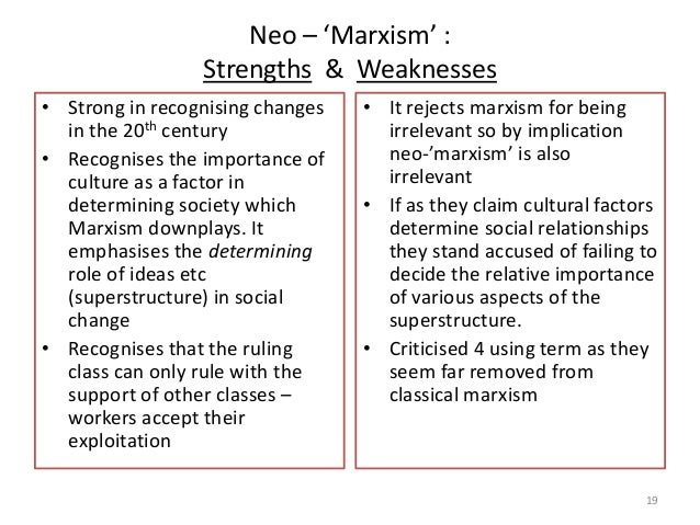strengths and weaknesses of conflict theory 2016-1-15 natural law strengths weaknesses  conflicting rules - as with any absolutist theory, what if two universal rules come into conflict with.