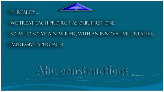 Abu constructions services