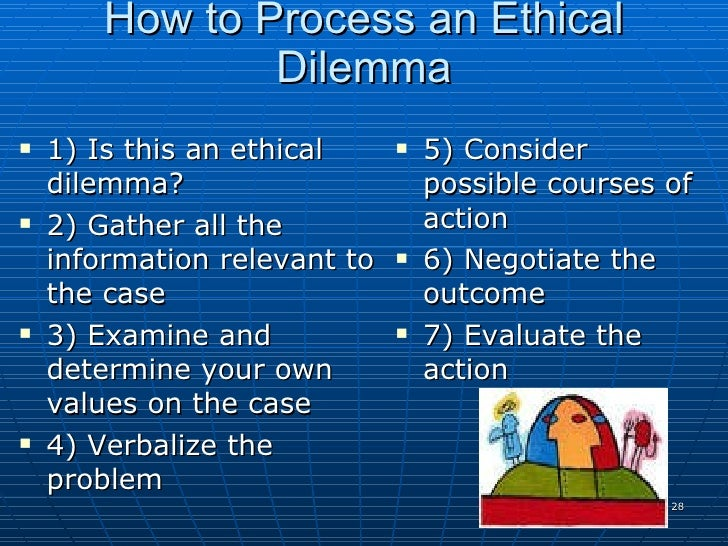 resolving an ethical dilemma in a healthcare context essay Which presents an ethical dilemma  an important stake in resolving the issue  which recognize the cultural context which are the most consistent.