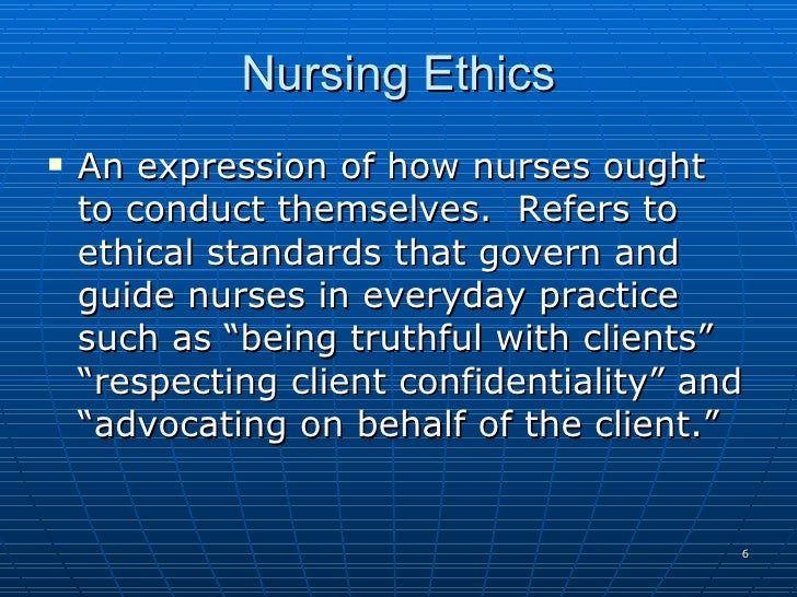 nursing ethic Encouraging nurses to engage in hospital ethics committee meetings, which provide structure for addressing ethical dilemmas, promotes professional growth of individual nurses as the multidisciplinary voices on these committees share perspectives for addressing the dilemma at hand.