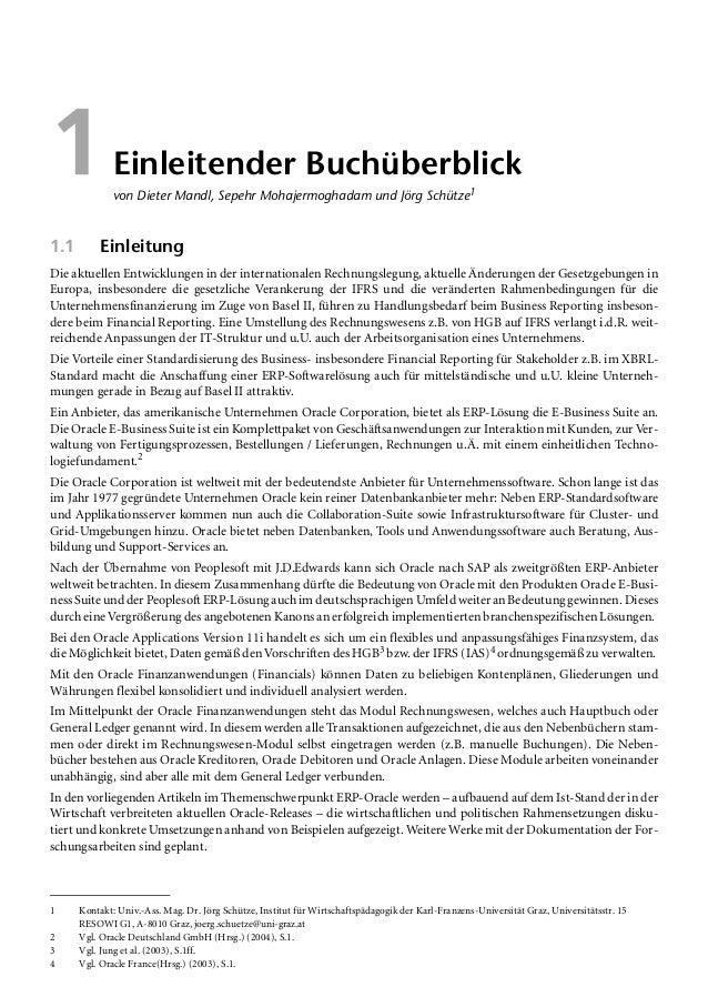 Abstracts Teil 2005 Mandl/Schütze 15 1.2.4 Abstract Einzelabschluss Überleitung öHGB – IFRS (IAS) von Dieter Mandl und Max...