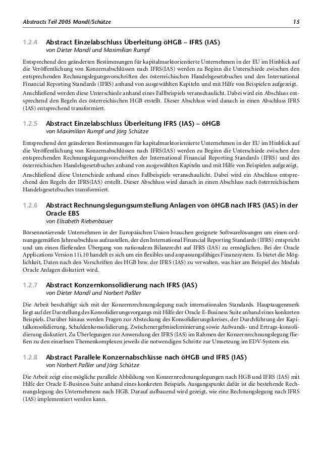 Abstracts Teil 2006 Riesslegger/Rumpf 17 1.3.5 Abstract ERP-Crashkurs für Führungskräfte von Helmut Riesslegger und Jörg S...