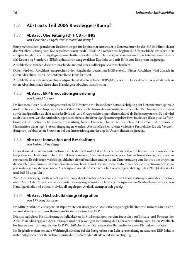 Teil 1 IFRS(IAS) – Praktische Umsetzung mit der Oracle E-Business Suite herausgegeben von Dieter Mandl und Jörg Schütze