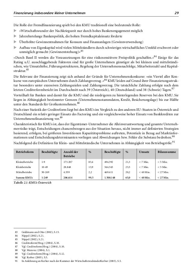 Zusammenfassung und Ausblick 33 Der Anstieg der Finanzierungskosten für »Unternehmen mit einem schlechten Risiko 3-4 Proze...
