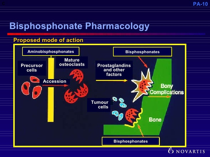 Pathophysiology of metastatic bone disease and the role of bisphosp