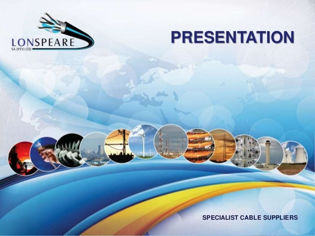 PRESENTATION SPECIALIST CABLE SUPPLIERS