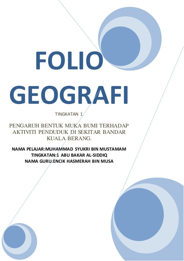 38285656 Folio Geografi Tingkatan 1
