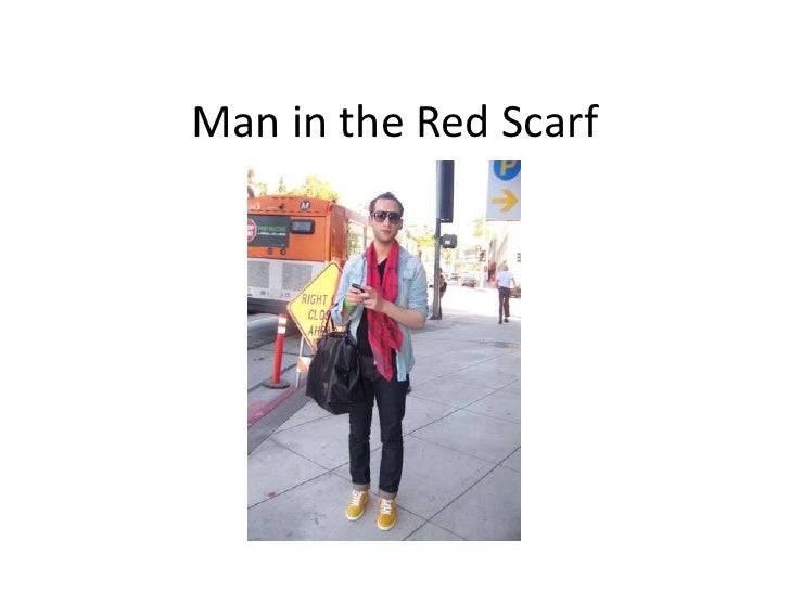 Man in the Red Scarf<br />