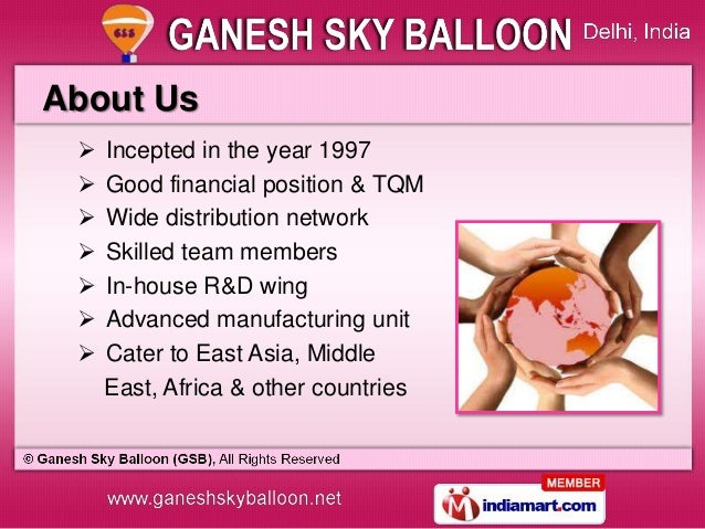 Advertising Balloons & Inflatable Characters by Ganesh Sky Balloon (GSB), New Delhi  Slide 2