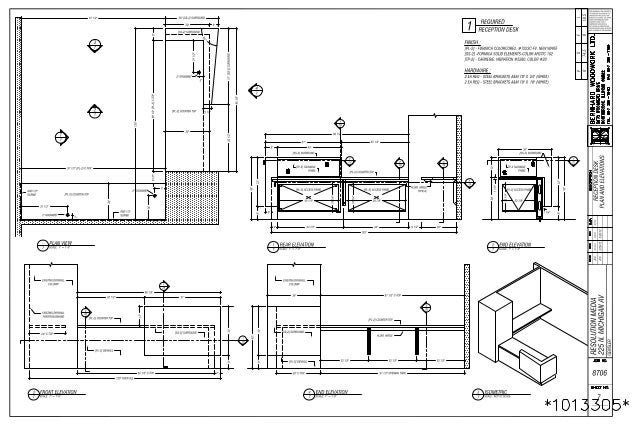 JCC Drawing Examples Millwork 5