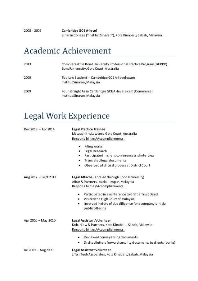 "2008 - 2009 Cambridge GCE A-level SinaranCollege (""InstitutSinaran""),KotaKinabalu,Sabah,Malaysia Academic Achievement 2013..."