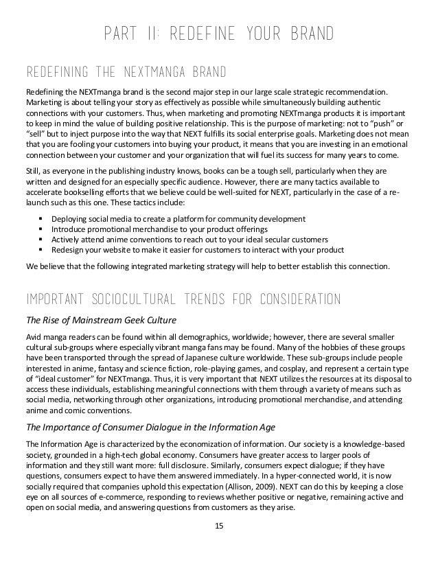 NEXTmanga Strategic Business Plan FINAL